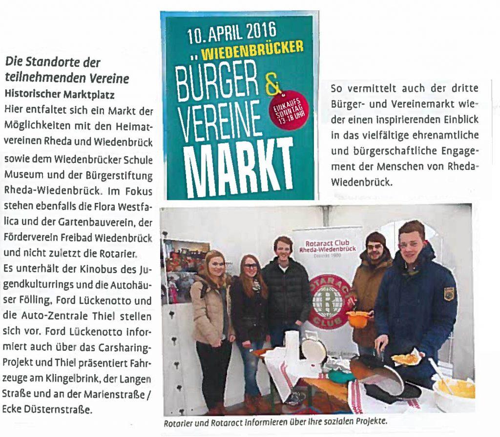 Vereinemarkt - Stadtgespräch