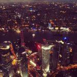 Auch bei Nacht schläft Shanghai nicht